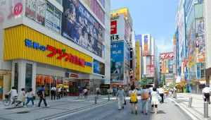 Jalanan di Akihabara