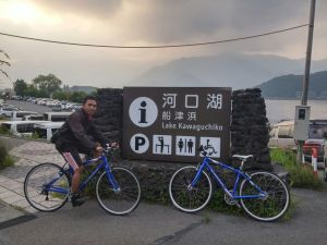 Kawaguchiko Lake Monumen