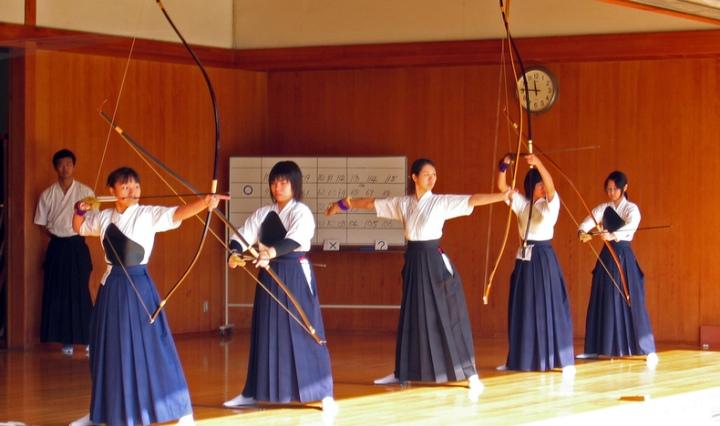 seni bela diri Jepang kyudo
