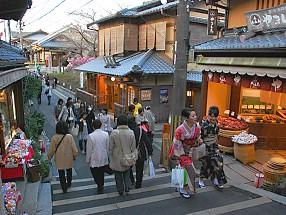 tempat berbelanja di kyoto higashiyama