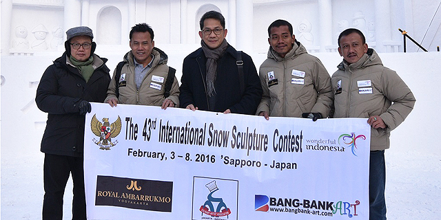 tim-indonesia-di-snow-festival-sapporo