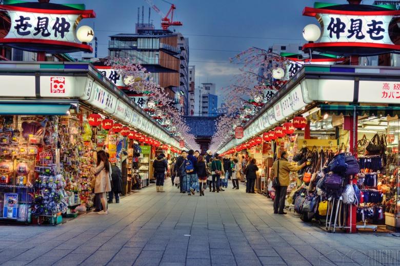 nakamise street asakusa