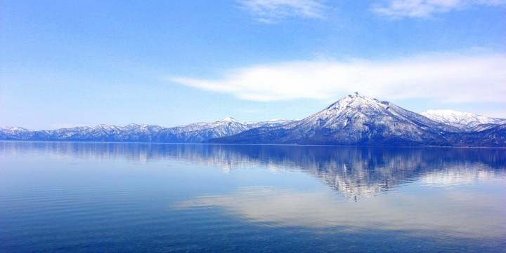 tour ke jepang winter lake toya 1