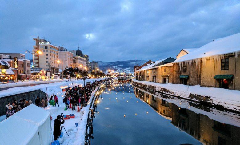 tour ke jepang winter otaru