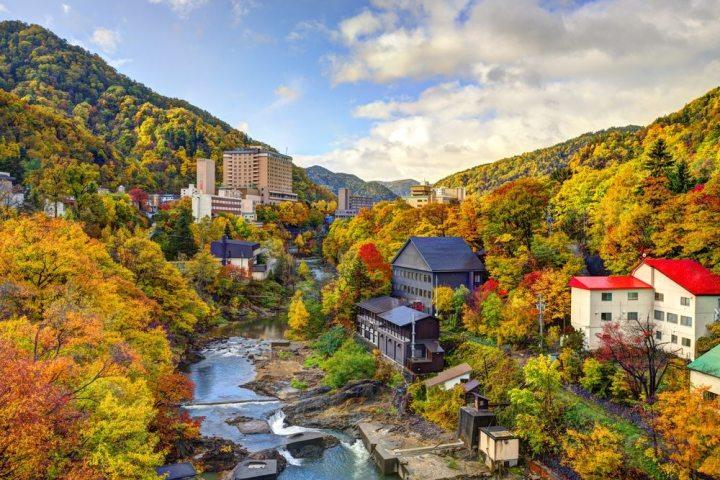 musim gugur waktu terbaik untuk mengunjungi sapporo hokkaido jepang