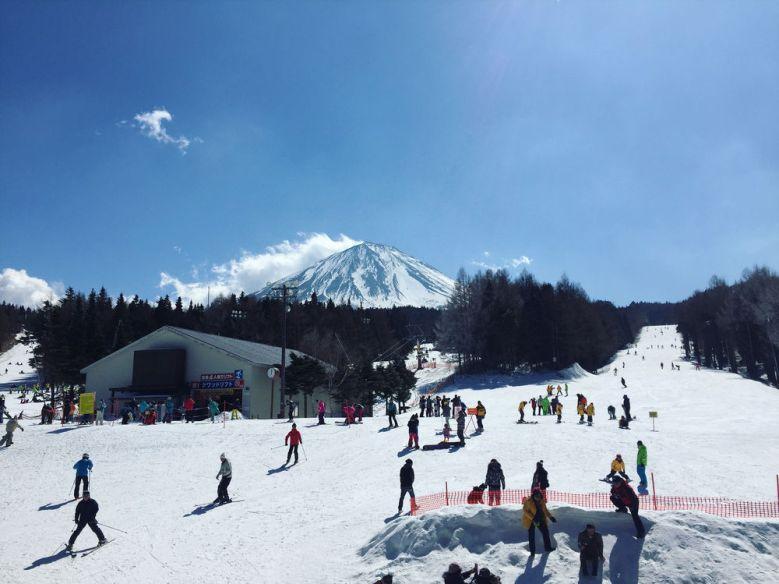 tour jepang winter fujiten ski resort
