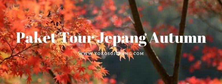 paket tour jepang autumn